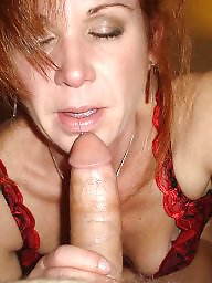 Mature blowjob, Amateur mature
