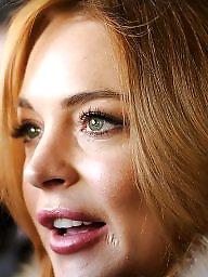 Talk, Talking, Talked, Redhead blonde, Lohan, Talks