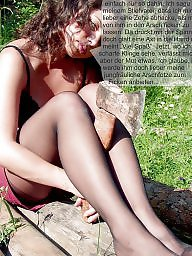 Stockings captions, Stockings caption, Nylons milf, Nylon milfs, Nylon milf, Nylon captions