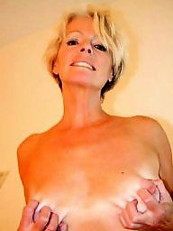 Saggy mature, Mature blonde, Mature tits, Blond mature, Whores, Saggy