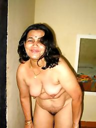 Indian, Hairy mature, Aunty