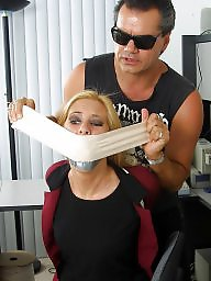 Secretary, Gagged, Office, Gag, Gagging