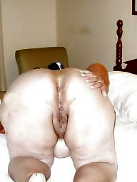 Fat ass, Cock, Black cock, Old, Fat, Black ass