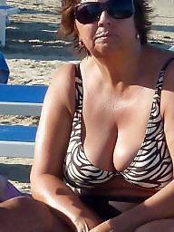 Pawg mature on beach