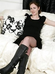 Boots, Mature boots, Mature stockings, Boot