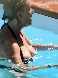 Big mature, Pool, Mature boobs, Mature pool, Mature big boobs, Big boobs amateur