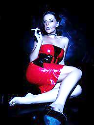 Latex, Smoking, Smoking fetish, Smoke, Fetish