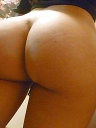 Amateur ass, Behind