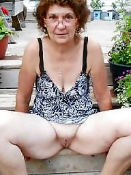 Old, Old grannies, Old granny, Grannies, Mature amateur, Flash