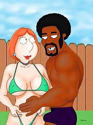 Cartoons, Black cartoon, Lois griffin, Black cock, Big black cock, Cartoon