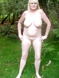 Uk milf, Forest, Milf public, Samantha