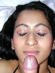 Arab, Sperm, Beurette, Face, Arabic