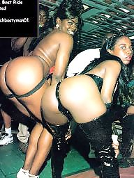 Ebony public, Party, Boat, Ebony ass
