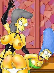 Cartoons, Milf cartoon, Cartoon, Simpsons
