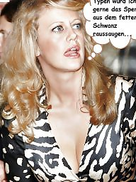 German captions, Milf captions, German milf, Celebrity captions, German, German celebs