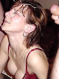 Facials, Milf facial, Amateur facial, English milf
