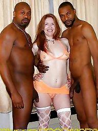 Big boobs amateur, Interracial