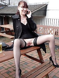 Weekend, Stockings flashing, Stocking flashing, Matures flashing, Matures flash, Mature weekend