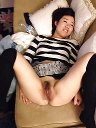 Cream pie, Asian amateur, Cream, Asian slut, Amateur asian, Cum slut