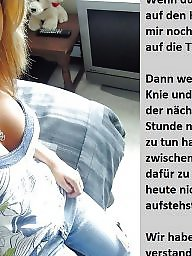 German caption, German captions, Femdom caption, Femdom captions