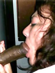 Interracial blowjob, Interracial milf, Milf blowjob, Gloryhole