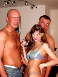 German, Group sex, Whore, Whores, Soldier