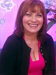 Celebrities, Celebrity, Cleavage, Lorraine, Kelly, Big