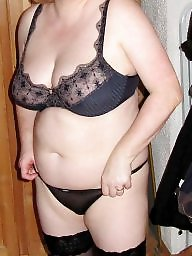 Lingerie, Housewife, Mature lingerie