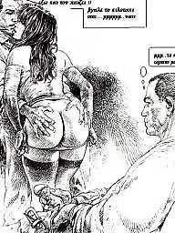 Cuckold cartoon, Cuckold, Greek, Story