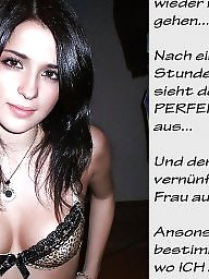 Femdom captions, German caption, Femdom caption, German, Caption, German captions