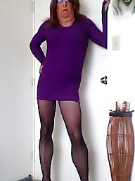 Purple stocking, Purple dress, Purple, Stockings dress, Stocking purple, Stocking dressed