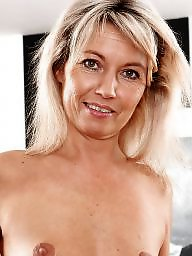 Mature blonde, Blond mature, Mature lady