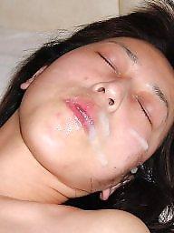 Amateur facial, Asian facial, Face