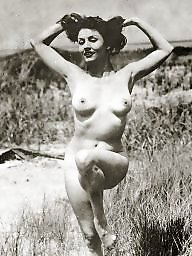 Vintage amateur, Vintage, Naturists, Hairy girls