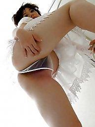 Voyuer mutandine, Upskirt stocking autoreggenti, Calze mutande upskirt, Mutandine