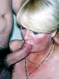 Grannies, Granny, Granny blowjob, Mature blowjob