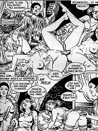 Mature cartoon, Lesbian cartoon