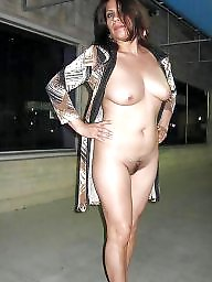 Mexican mature, Mexican, Public nudity, Naked, Mature mexican, Street