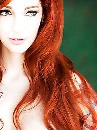 Stockings, Redhead, Red