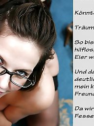 German captions, Femdom caption, Femdom captions, German caption, Bdsm captions