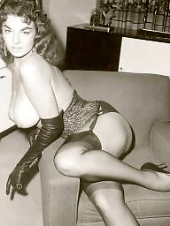 Vintage stockings, Vintage boobs, Vintage big boobs, Lady, Vintage, Lady b