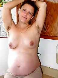 hairy nude Pregnant