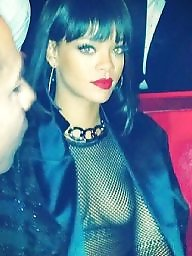 Rihanna, Flashing ebony, Flash black, Flash big tits, Flash celebrity, Ebony flashing