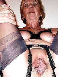 Granny, Granny boobs, Granny stockings