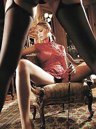 Heels, Garter, Garter belt, High heels, Milf heels, Suspenders