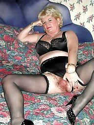 Grannys, Granny, Granny stocking, Granny stockings, Mature stockings, Mature stocking