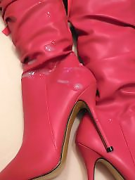 X boots, X boot, Red,stockings, Red stockings, Red stocking, Red j