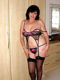 Lingerie, Mom, Moms, Mature lingerie