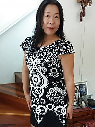 Chinese, Asian milf, Housewife