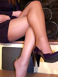 Teen feet, Stocking feet